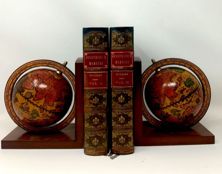 MEMOIRS OF THE EMPRESS JOSEPHINE WITH ANECDOTES OF THE COURTS OF NAVARRE AND MALMAISON (TWO VOLUMES, COMPLETE); (EDITION LIMITED TO 500 COPIES, AND EXTRA-ILLUSTRATED). Ducrest, Madame.
