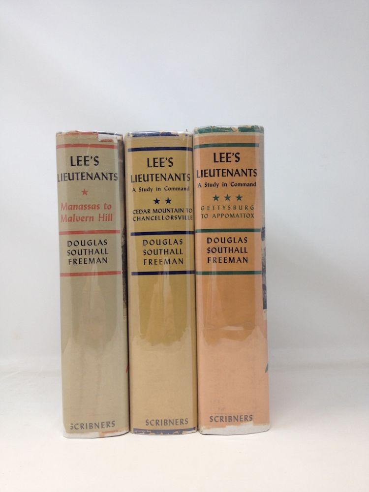 LEE'S LIEUTENANTS : A STUDY IN COMMAND (SIGNED). Douglas Southall Freeman.
