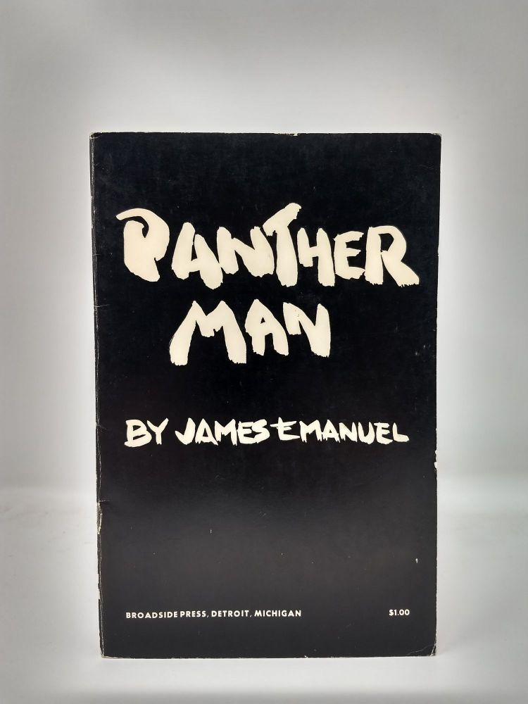 PANTHER MAN. James A. Emanuel.