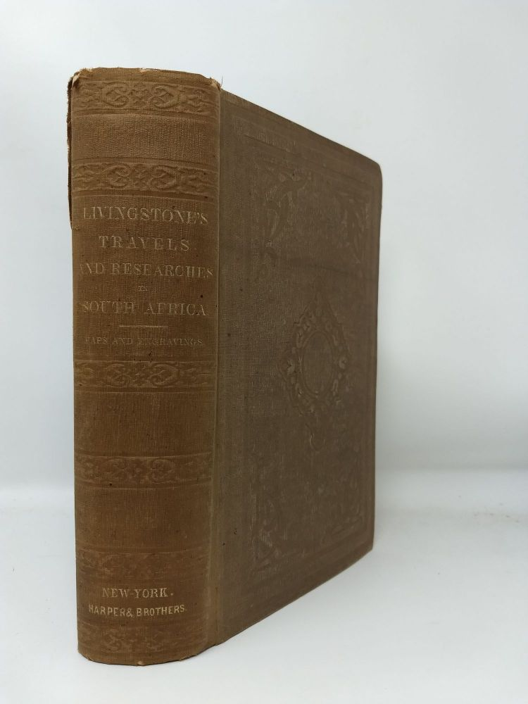 MISSIONARY TRAVELS AND RESEARCHES IN SOUTH AFRICA; INCLUDING A SKETCH OF SIXTEEN YEARS' RESIDENCE IN THE INTERIOR OF . AFRICA AND A JOURNEY FROM THE CAPE OF GOOD HOPE TO LOANDA ON THE WEST COAST, THENCE ACROSS THE CONTINENT, DOWN THE RIVER ZAMBESI, TO THE EASTERN OCEAN. David Livingtone.