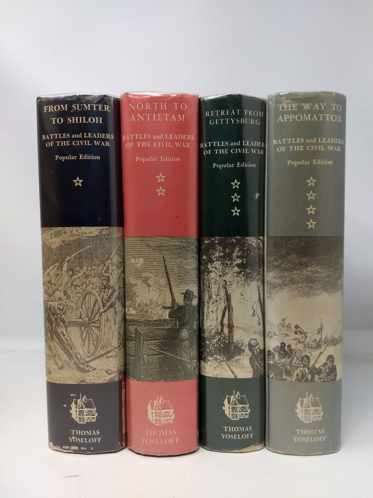 BATTLES AND LEADERS OF THE CIVIL WAR, 4 VOL. SET. Robert Underwood Johnson, Clarence Clough Bell.