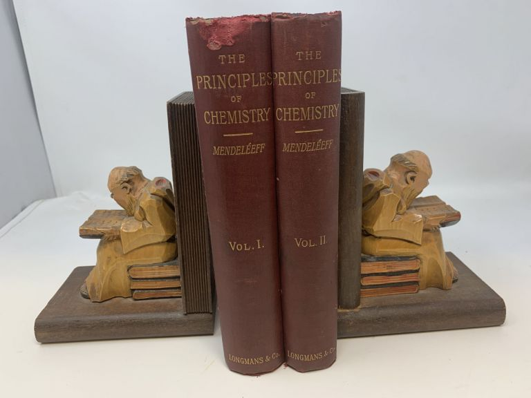 THE PRINCIPLES OF CHEMISTRY (Two Volumes, Complete); The Principles of Chemistry. D. Mendeleeff.