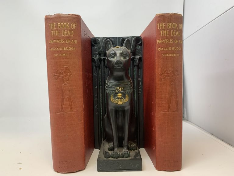 THE BOOK OF THE DEAD: THE PAPYRUS OF ANI, SCRIBE AND TREASURER OF THE TEMPLES OF EGYPT, ABOUT BC 1450 (TWO VOLUMES, COMPLETE). E. A. Wallis Budge.
