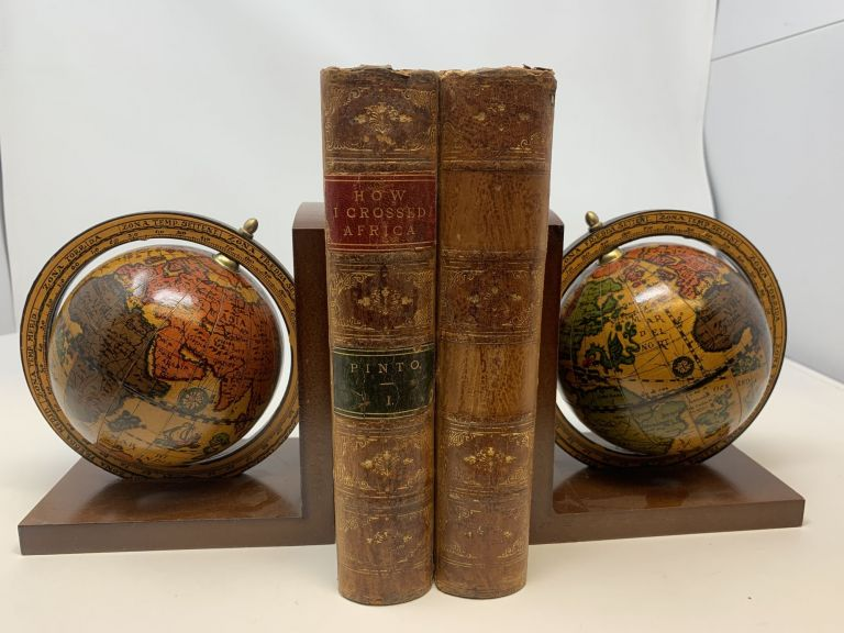 HOW I CROSSED AFRICA. FROM THE ATLANTIC TO THE INDIAN OCEAN THROUGH UNKNOWN COUNTRIES; DISCOVERY OF THE GREAT ZAMBESI AFFLUENTS, &c. (2 VOLUMES, COMPLETE). Serpa Pinto, Alexandre Alberto da Rocha, de.