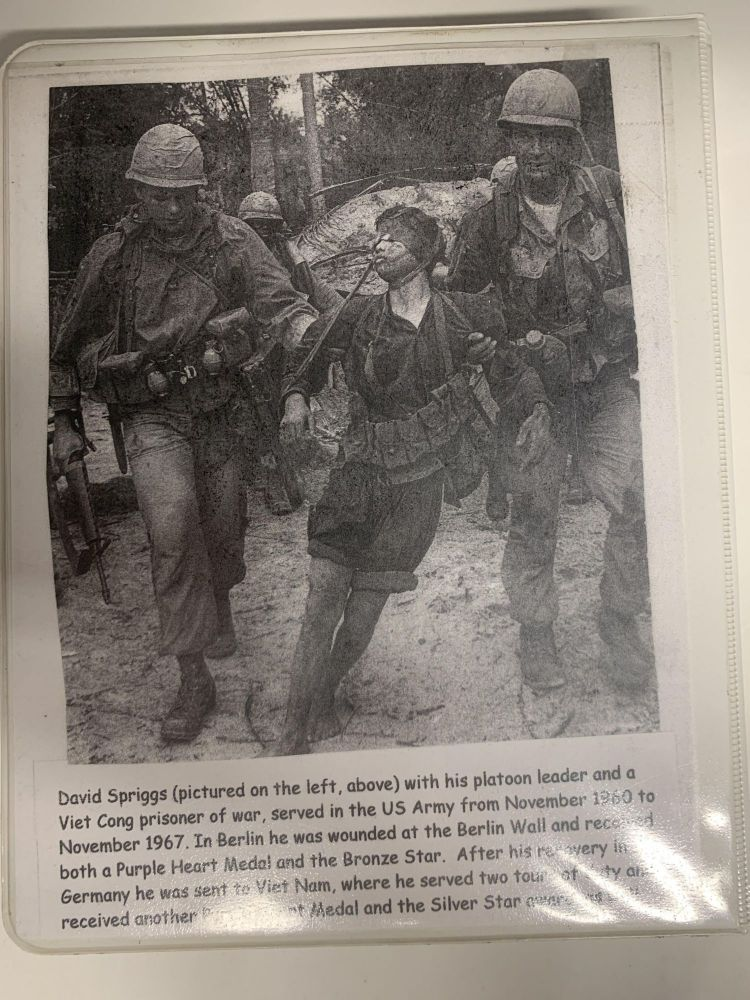 PURPLE HEART: THE MEN, THE MEDALS, THE MENUS (Some Gave All; All Gave Some). David Spriggs.