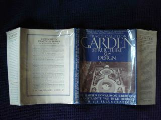 THE PRACTICAL BOOK OF GARDEN STRUCTURE AND DESIGN; WITH 233 ILLUSTRATIONS, INCLUDING DRAWINGS BY MARIAN GREENE BARNEY