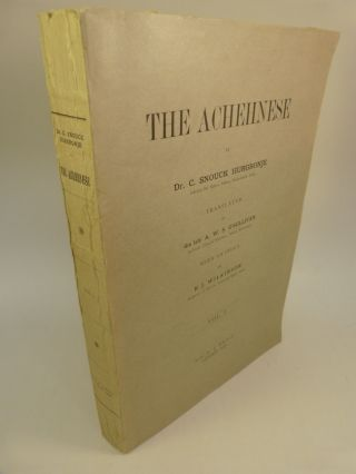 THE ACHEHNESE (VOL. I). C. Snouck Hurgronje, Christiaan