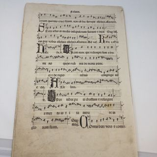 ANTIPHONARIU. UNKNOWN