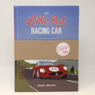 THE LITTLE RED RACING CAR (SIGNED). Dwight Knowlton