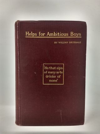 HELPS FOR AMBITIOUS BOYS