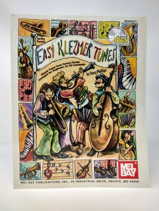 EASY KLEZMER TUNES : CLASSIC TUNES FROM EASTERN EUROPE ARRANGED FOR BEGINNERS ON ALL INSTRUMENTS....