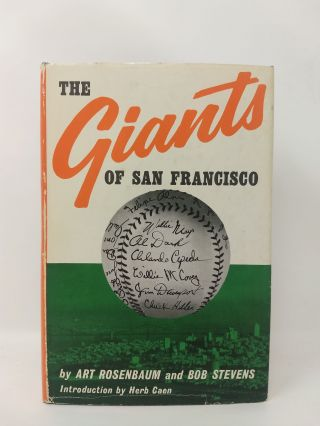 THE GIANTS OF SAN FRANCISCO. Art Rosenbaum