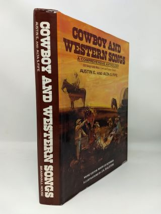 COWBOY AND WESTERN SONGS : A COMPREHENSIVE ANTHOLOGY