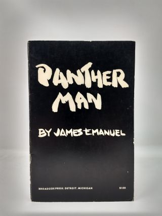 PANTHER MAN. James A. Emanuel