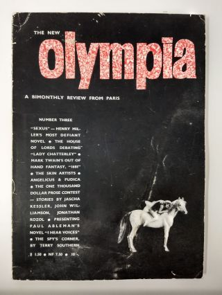 THE NEW OLYMPIA : A BIMONTHLY REVIEW FROM PARIS [Number 3]: TATTOOS