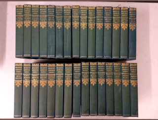THE COMPLETE WORKS OF CHARLES DICKENS (COMPLETE SET, 30 VOLUMES