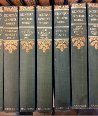 THE COMPLETE WORKS OF CHARLES DICKENS (COMPLETE SET, 30 VOLUMES)