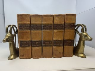 THE NATIVE RACES OF THE PACIFIC STATES (5 VOLUMES, COMPLETE). Hubert Howe Bancroft