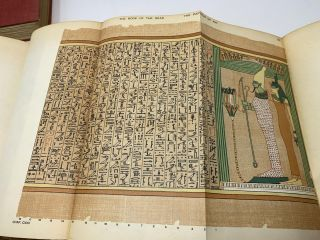 THE BOOK OF THE DEAD: THE PAPYRUS OF ANI, SCRIBE AND TREASURER OF THE TEMPLES OF EGYPT, ABOUT BC 1450 (TWO VOLUMES, COMPLETE)