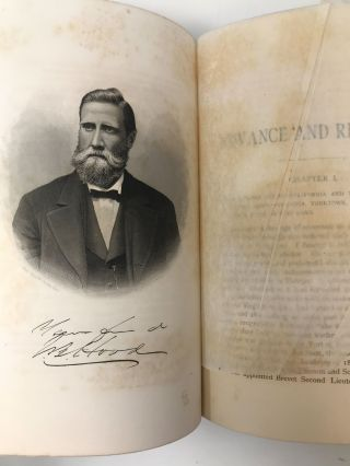 ADVANCE AND RETREAT: PERSONAL EXPERIENCES IN THE UNITED STATES AND CONFEDERATE STATES ARMIES; Advance and Retreat. Memoirs of General John Bell Hood.