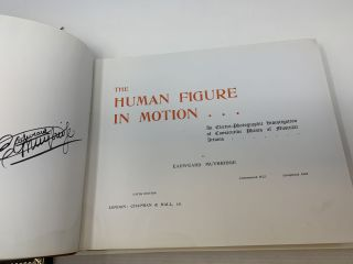 THE HUMAN FIGURE IN MOTION : AN ELECTRO-PHOTOGRAPHIC INVESTIGATION OF CONSECUTIVE PHASES OF MUSCULAR ACTIONS