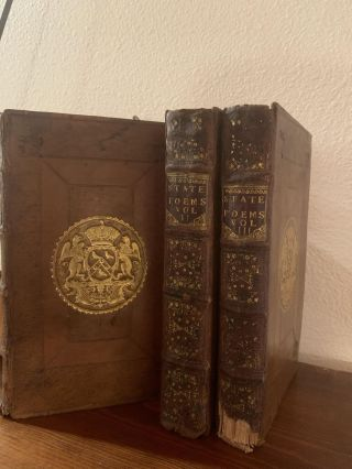 POEMS ON AFFAIRS OF STATE: THREE VOLUMES: I): FROM THE TIME OF OLIVER CROMWELL TO THE ABDICATION OF K. JAMES THE SECOND; II): FROM THE REIN OF K. JAMES THE FIRST, TO THIS PRESENT YEAR 1703; III): FROM 1640 TO THIS PRESENT YEAR 1704. WRITTEN BY THE GREATEST WITS OF THE AGE....PUBLISHED WITHOUT ANY CASTRATION.