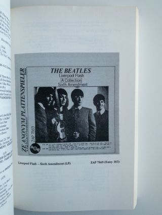 YOU CAN'T DO THAT : BEATLES BOOTLEGS & NOVELTY RECORDS; Includes John Lennon tribute records