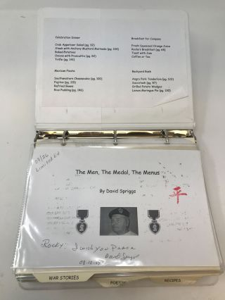 PURPLE HEART: THE MEN, THE MEDALS, THE MENUS (Some Gave All; All Gave Some)