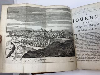 A JOURNEY FROM ALEPPO TO JERUSALEM AT EASTER, A.D. 1697 (SECOND EDITION)