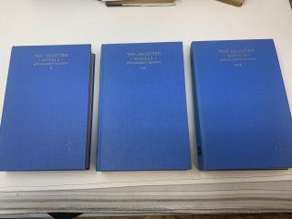 THE SELECTED NOVELS OF W. SOMERSET MAUGHAM (3 VOLUMES, COMPLETE). W. Somerset Maugham