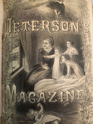 PETERSON'S MAGAZINE : VOLUME XLV (45) AND XLVI (46), JANUARY TO DECEMBER 1864, INCLUSIVE