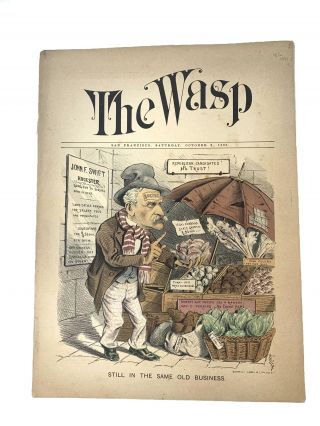 THE WASP, (VOLUME XVII, WHOLE NUMBER 531): OCTOBER 2, 1886